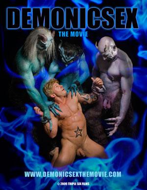 Gay porn sex demons