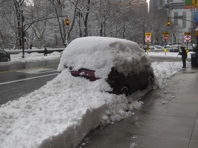 Snowstormcar