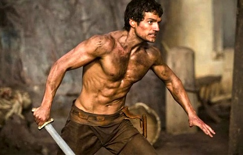 Henry Cavill as Theseus